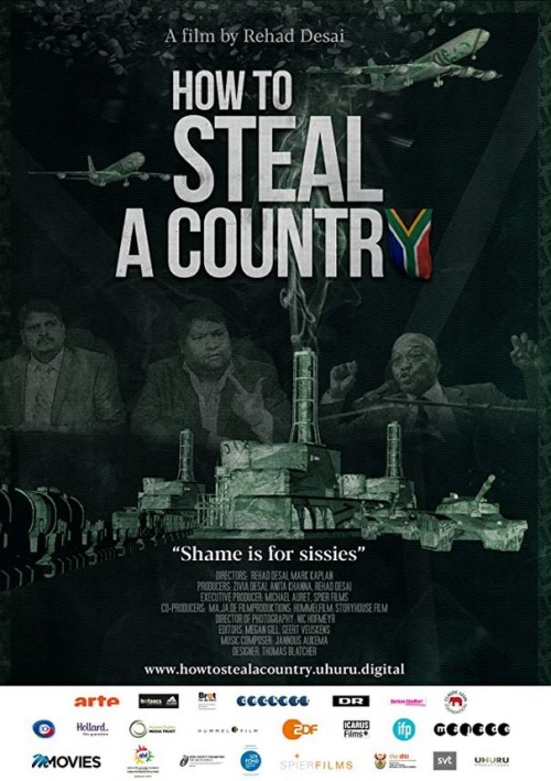 How tob steal a country film documentaire affiche réalisé par Rehad Desai et Mark Kaplan