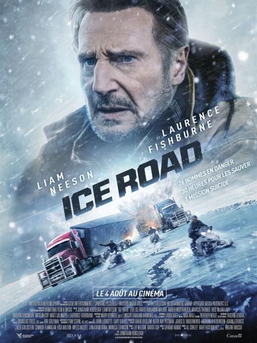 Ice Road film affiche réalisé par Jonathan Hensleigh
