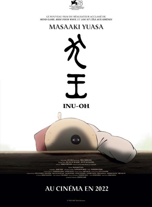 Inu-Oh film animation affiche provisoire réalisé par Masaaki Yuasa