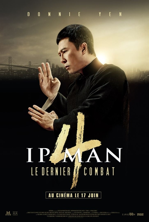 Ip Man 4 film affiche