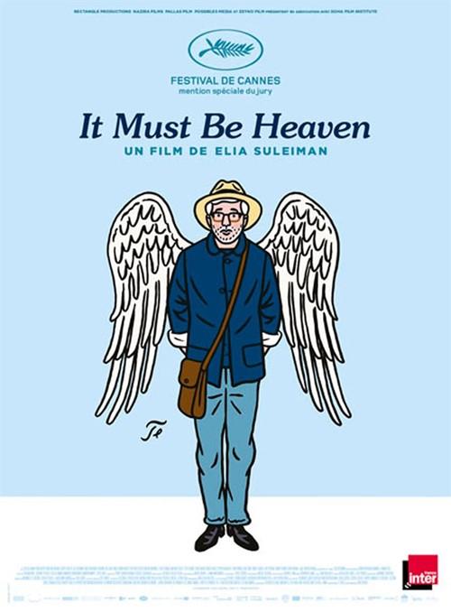 It must be heaven film affiche