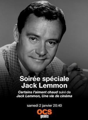 Jack Lemmon une vie de cinéma film documentaire affiche réalisé par Clara Kuperberg et Julia Kuperberg