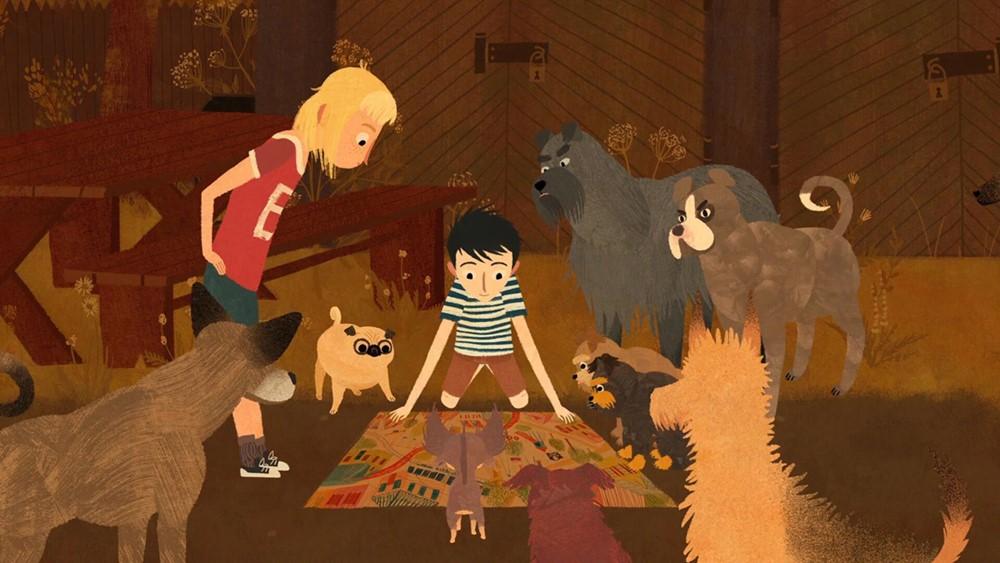 Jacob et les chiens qui parlent film animation image
