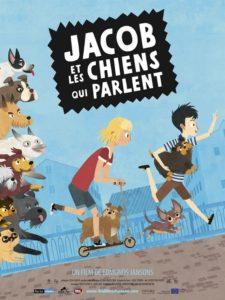 Jacob et les chiens qui parlent film animation affiche
