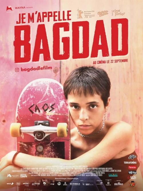 Je m'appelle Bagdad film affiche réalisé par Caru Alves de Souza