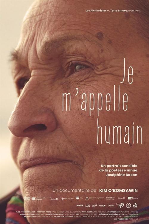 Je m'appelle humain film documentaire affiche réalisé par Kim O'Bomsawin