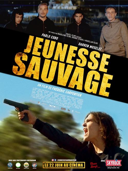 Jeunesse sauvage film affiche