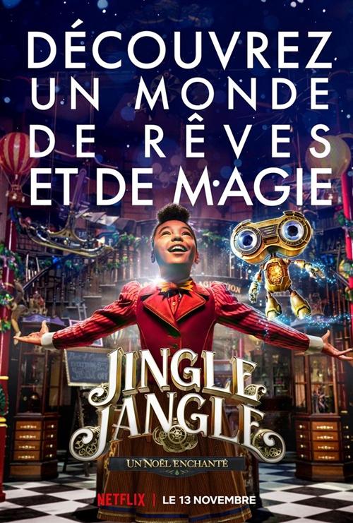 Jingle Jangle Un Noël enchanté film affiche