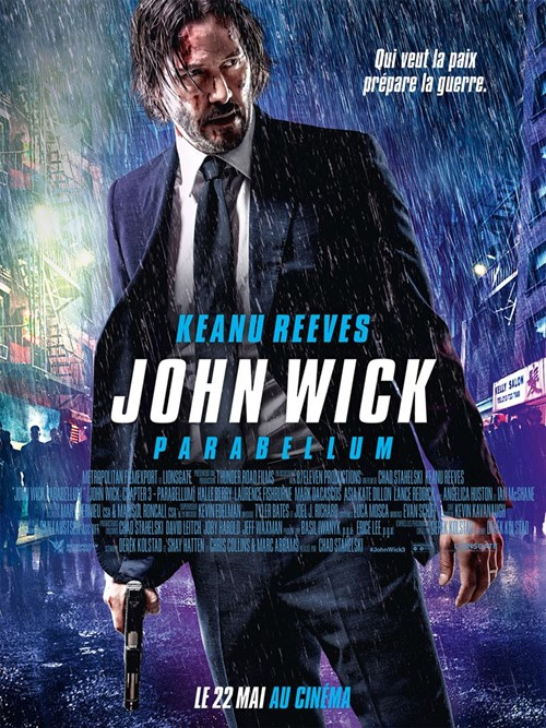 John Wick 3 Parabelum film affiche