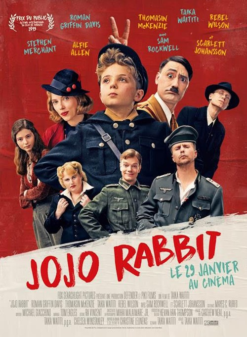 Jojo rabbit film affiche
