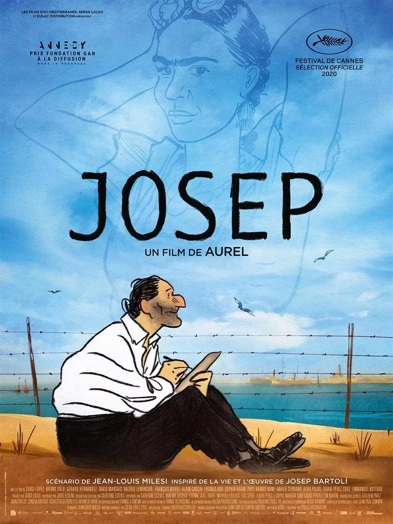 Josep film animation affiche