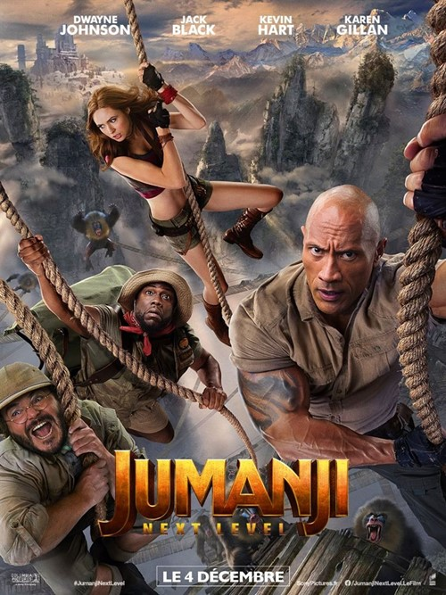 Jumanji : next level film affiche
