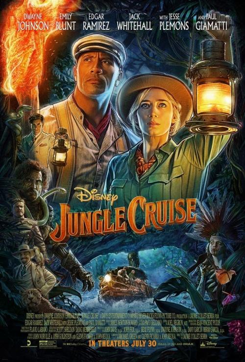 Jungle Cruise film affiche réalisé par Jaume Collet-Serra