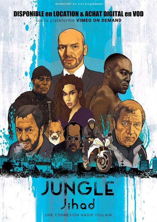 Jungle Jihad film affiche