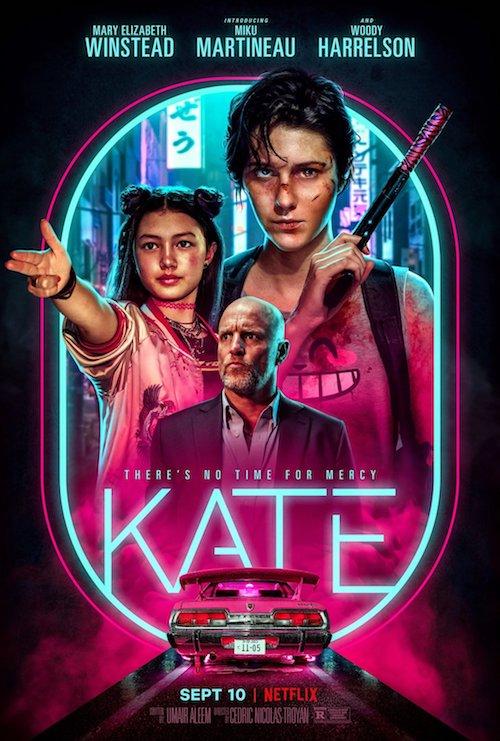 Kate film affiche réalisé par Cédric Nicolas-Troyan