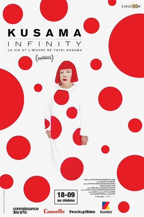 Kusama infinity film documentaire affiche