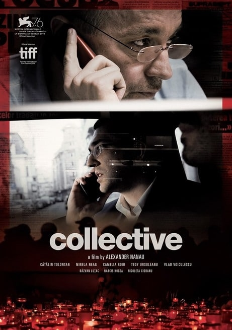 L'affaire Collective film documentaire affiche