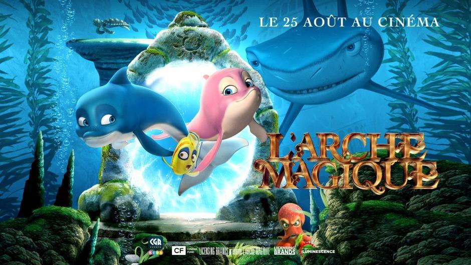 L'arche magique film animation animated movie