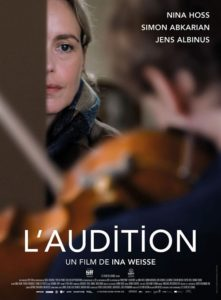 L'audition film affiche