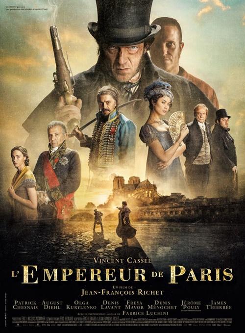 L'empereur de Paris film affiche