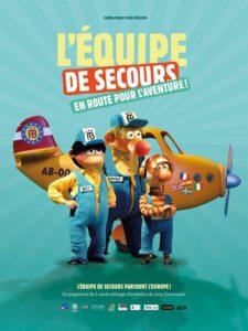 L'équipe de secours, en route pour l'aventure ! film animation affiche