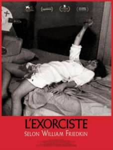 L'Exorcsite selon William Friedkin film documentaire affiche définitive
