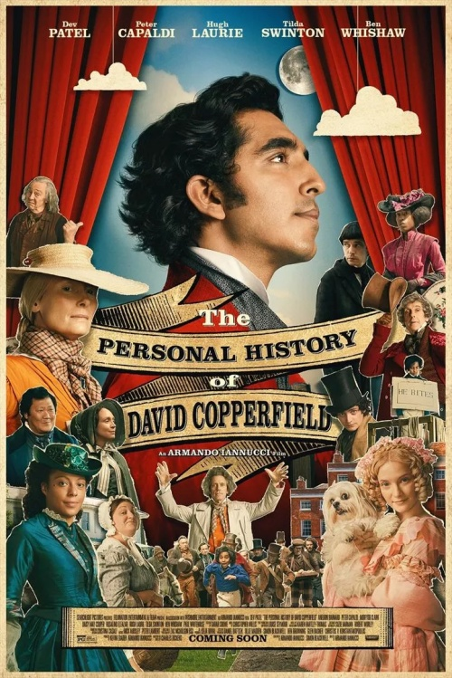 L'histoire personnelle de David Copperfield film affiche réalisé par Armando Iannucci