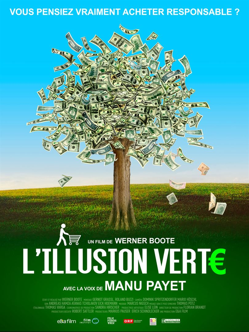 L'illusion verte documentaire affiche