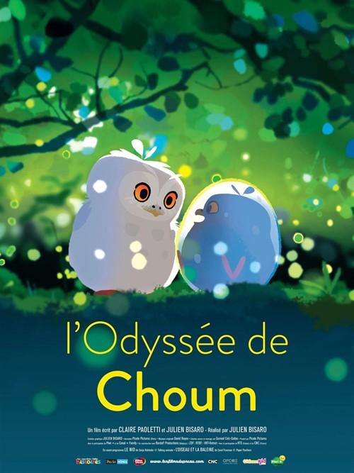 L'Odyssée de Choum film animation affiche