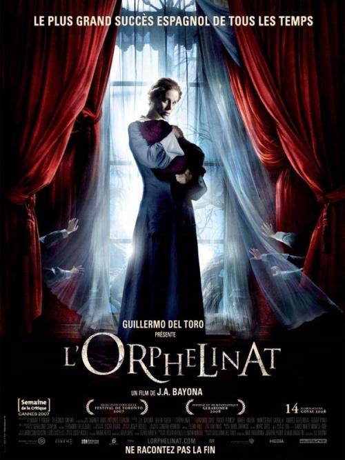 L'orphelinat film affiche définitive réalisé par Juan Antonio Bayona