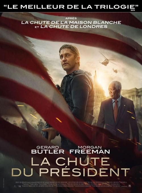 La chute du président film affiche