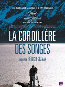 La Cordillère des songes film documentaire affiche
