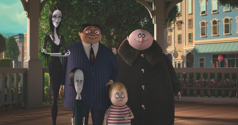 La famille Addams film animation image