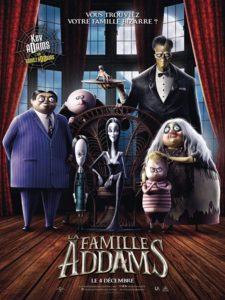 La famille Addams film animation affiche