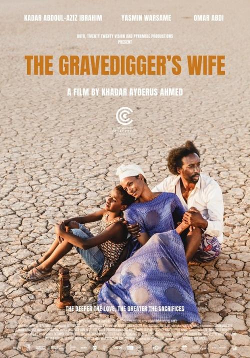La femme du fossoyeur film affiche réalisé par Khadar Ahmed