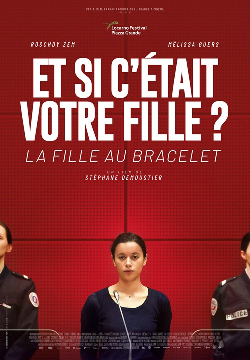 La fille au bracelet film affiche