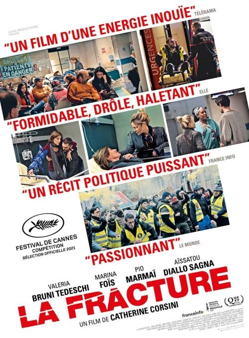 La Fracture film affiche définitive réalisé par Catherine Corsini