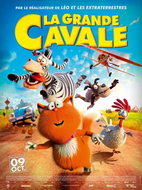 La grande cavale film animation affiche finale