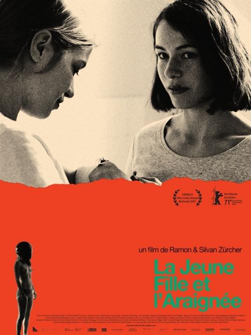 La Jeune fille et l'araignée film affiche réalisé par Ramon Zürcher et Silvan Zürcher