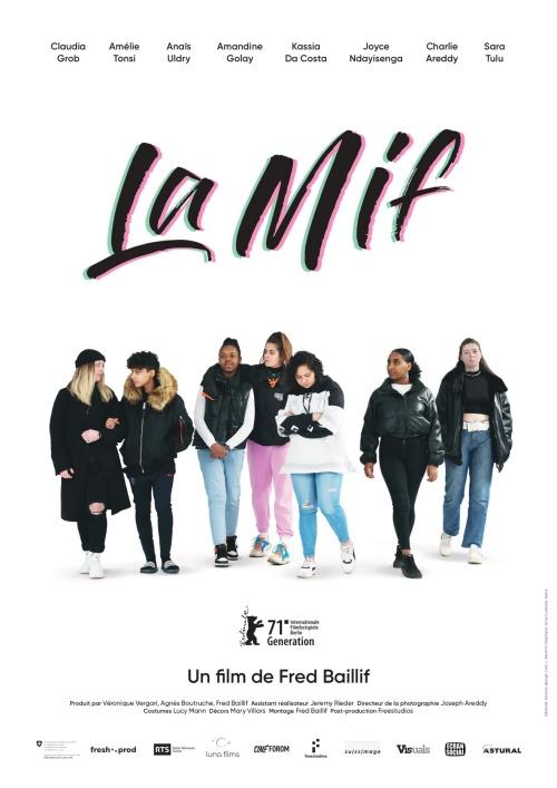 La Mif film affiche réalisé par Fred Baillif