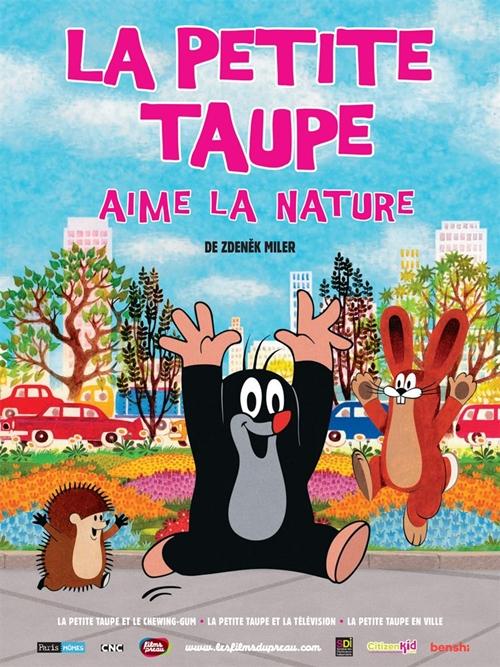 La petite taupe aime la nature film animation affiche