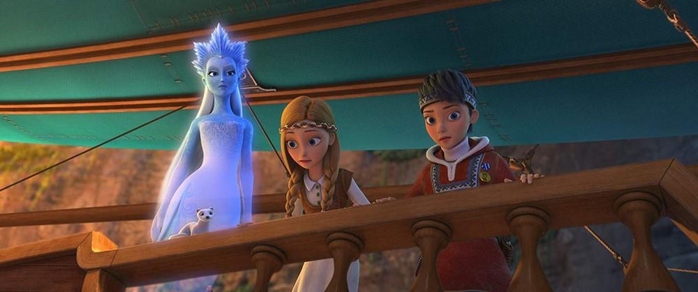 La princesse des glaces le pays des miroirs magiques film animation image