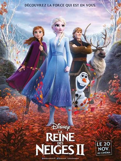 La reine des neiges 2 film animation affiche