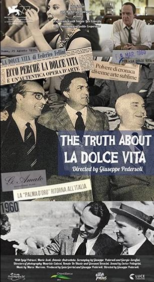 La Vérité sur La Dolce Vita film documentaire affiche