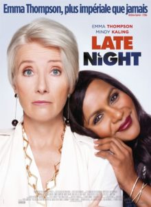 Late night film affiche