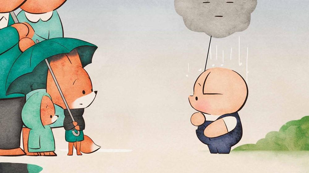Le cochon le renard et le moulin film animation image