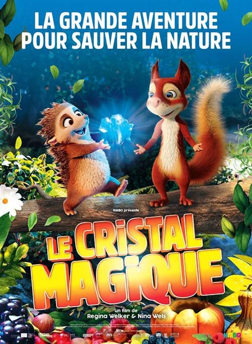 Le cristal magique film animation affiche