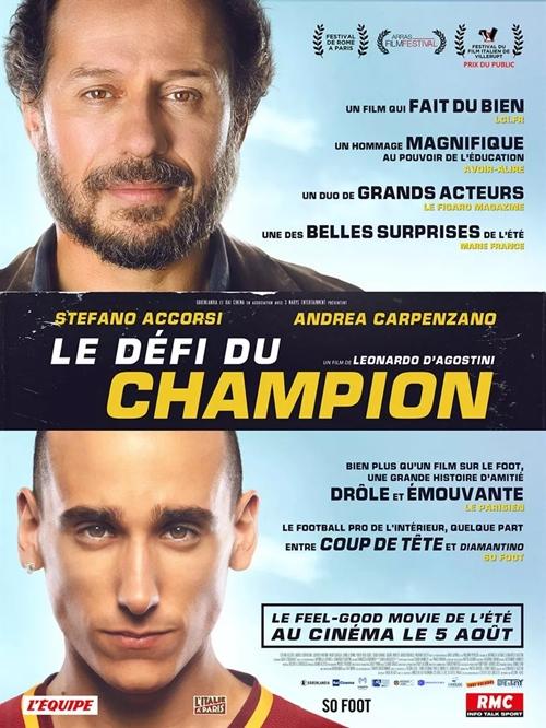 Le Défi du Champion film affiche