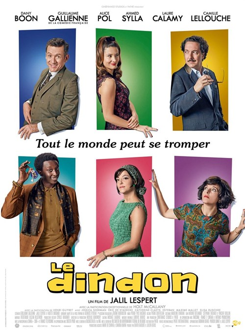 Le dindon film affiche