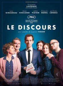 Le Discours film affiche réalisé par Laurent Tirard
